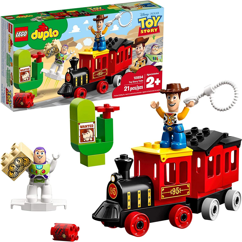 Lego 10894 Box and Figures