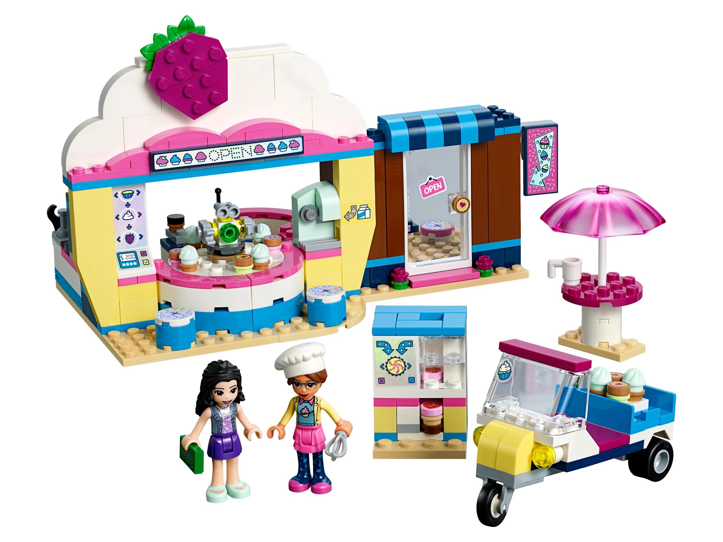 Assembled LEGO 41366 for Olivia's Cupcake Cafe
